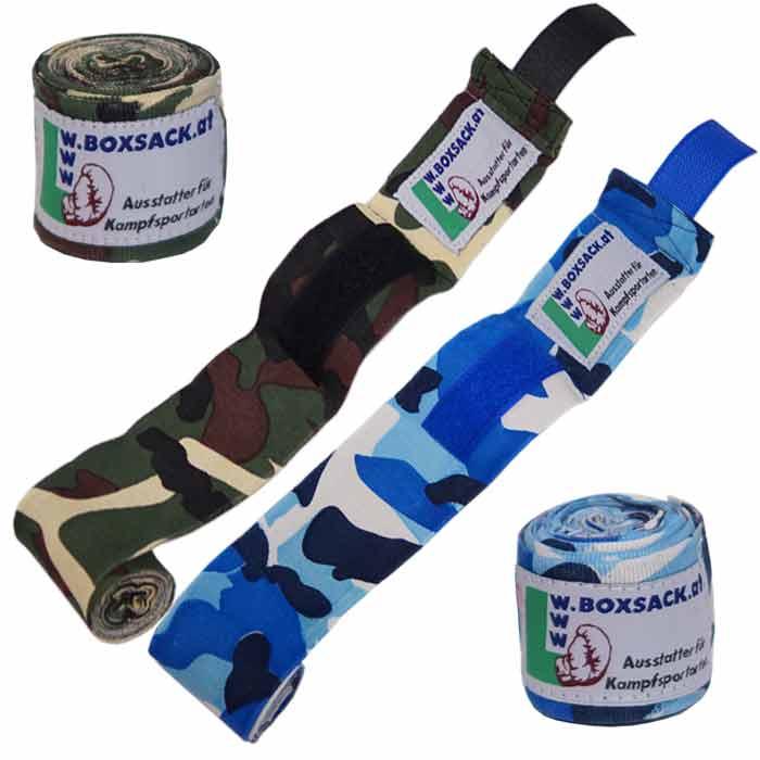 Boxbandagen Bandagen in Camouflage Design b