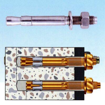 Bolzenanker für die Montage in Beton geeignet