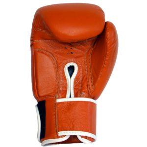 Boxhandschuhe WINNER aus strapazierfähigem Rindsleder Farbe Orange Bild b