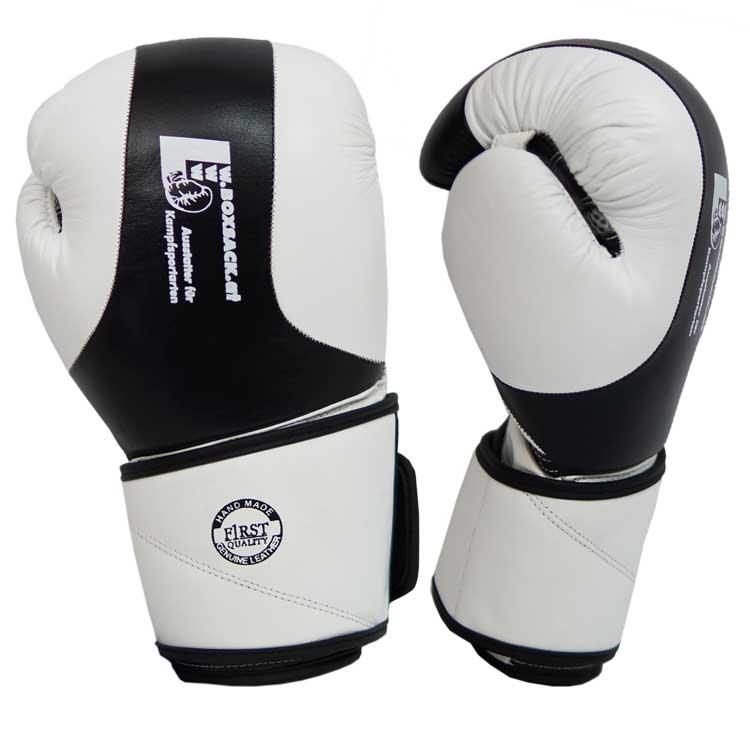 Boxhandschuhe TITANIUM aus bestem Rindsleder und extra breitem Verschluss Bild b