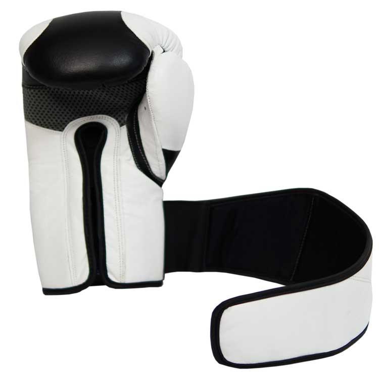 Boxhandschuhe TITANIUM aus bestem Rindsleder und extra breitem Verschluss Bild a