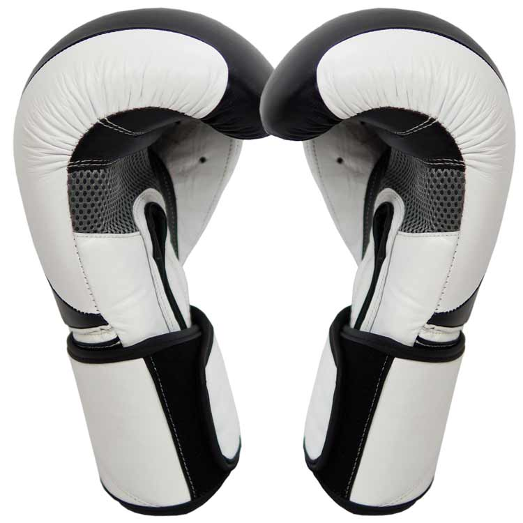 Boxhandschuhe TITANIUM aus bestem Rindsleder und extra breitem Verschluss Bild c