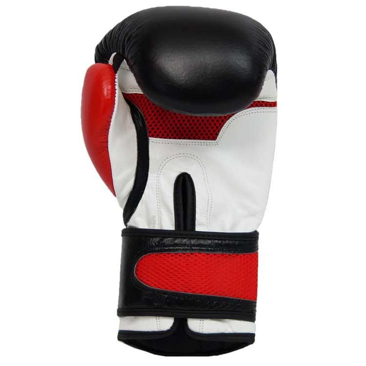 Boxhandschuhe DOMINATOR aus strapazierfähigem Rindsleder mit Mesh Bild a