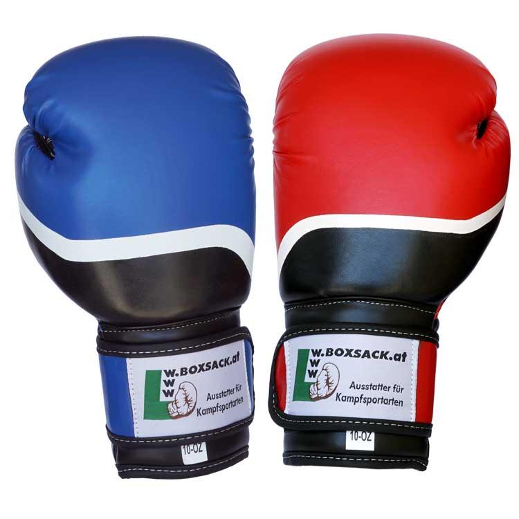 Boxhandschuhe HYBRID aus strapazierfähigem Kunstleder Bild a