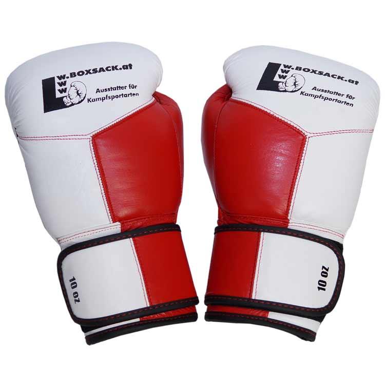 Boxhandschuhe MESCH STYLE PREMIUM aus strapazierfähigem Rindsleder mit Mesh Bild b