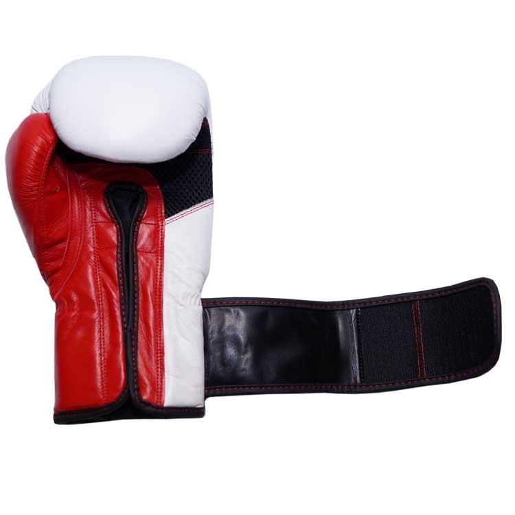 Boxhandschuhe MESCH STYLE PREMIUM aus strapazierfähigem Rindsleder mit Mesh Bild d