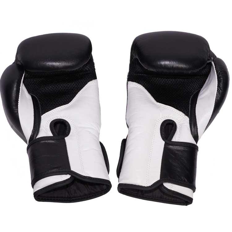 Boxhandschuhe TITANIUM aus bestem Rindsleder und extra breitem Verschluss Bild f