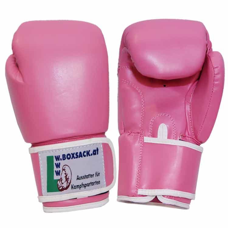 Boxhandschuhe PINK LADY strapazierfähiges Kunstleder Bild a