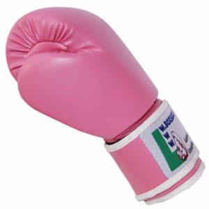 Boxhandschuhe PINK LADY strapazierfähiges Kunstleder Bild b