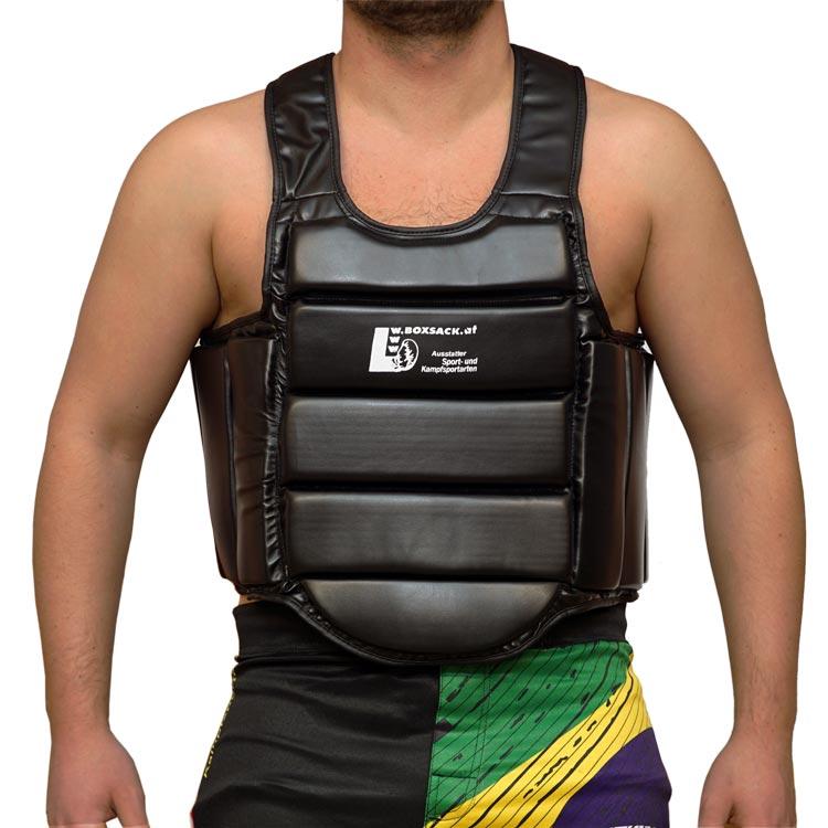 Brustschutz Körperschutz Secure aus Kunstleder
