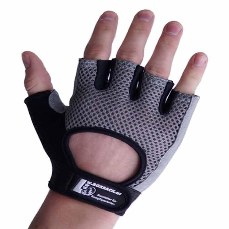 Gewichtherberhandschuhe Fitnesshandschuhe Leder Mesch Varianten Typ c