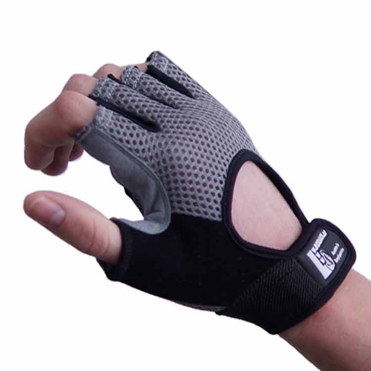 Gewichtherberhandschuhe Fitnesshandschuhe Leder Mesch Varianten Typ a