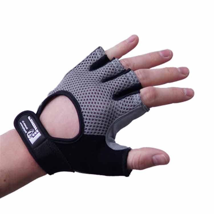 Gewichtherberhandschuhe Fitnesshandschuhe Leder Mesch Varianten Typ e