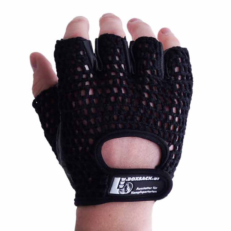 Gewichtherberhandschuhe Fitnesshandschuhe mit Mesch verschiedene Varianten Typ d
