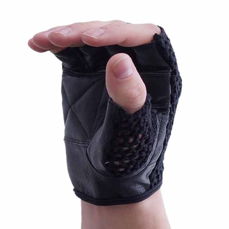 Gewichtherberhandschuhe Fitnesshandschuhe mit Mesch verschiedene Varianten Typ c