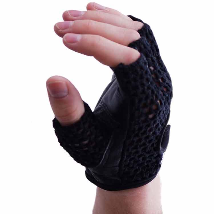 Gewichtherberhandschuhe Fitnesshandschuhe mit Mesch verschiedene Varianten Typ b