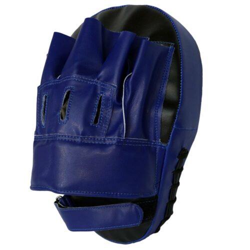 Pratze Handpratze gebogen aus Kunstleder in Blau Typ d