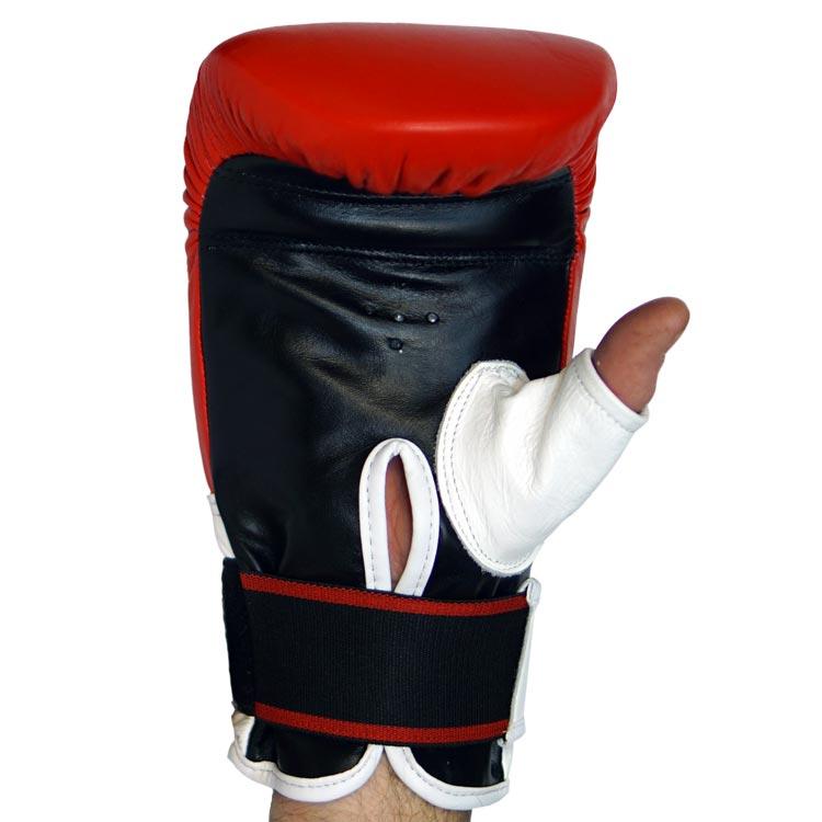 Sandsackhandschuhe STRIKE aus feinstem Leder Typ a