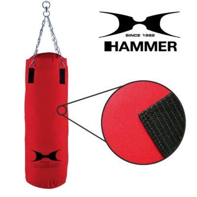 Boxsack FIT von HAMMER SPORT Farbe Rot d