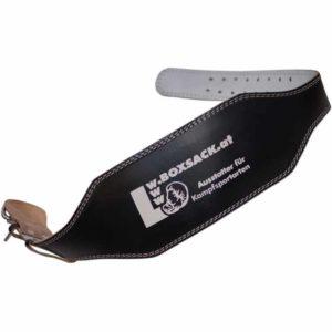 Gewichtshebergürtel aus dickem Leder extra Breit