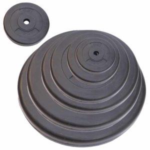 Hantelscheiben aus Kunststoff verschiedene Gewichte