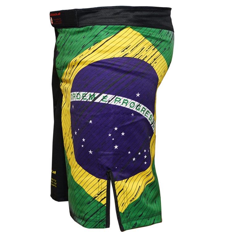 MMA Shorts Farbe Gelb Grün Blau 02