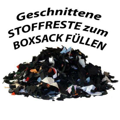 Stoffreste für Boxsack Füllung optional geschnitten und gerissen