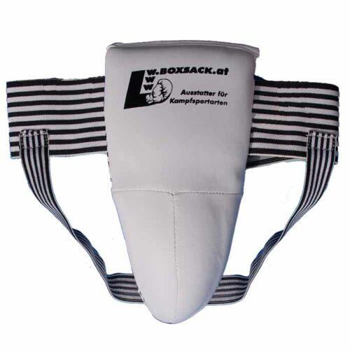 Tiefschutz Premium mit Pantalbecher für Herren in Farbe Weiss