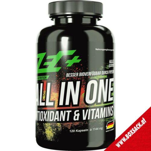 Zec Antioxidantien und Vitamine Kapseln all in one Antioxidant Vitamin 120 Stueck