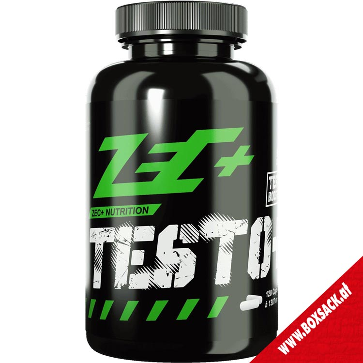 Zec Testosteron Booster Kapseln Testo 120 Stueck