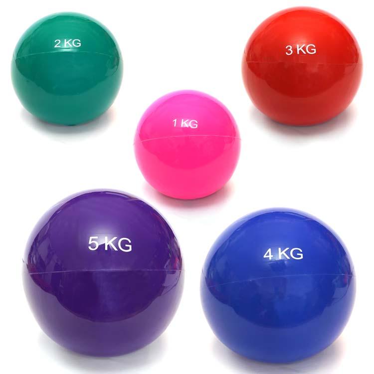 Gewichtsball Gymnastikball in verschiedenen Ausführungen und Farben erhältlich