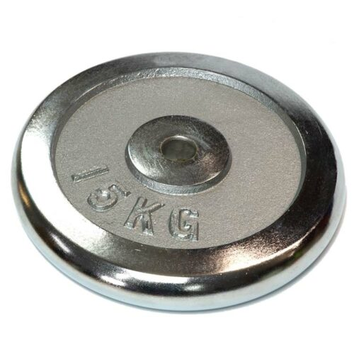 Hantelscheiben Gewichtsscheiben Crome Stahl Gewicht 15 Kg