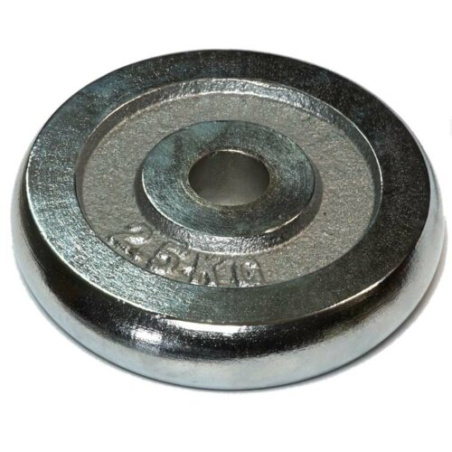 Hantelscheiben Gewichtsscheiben Crome Stahl Gewicht 25 Kg