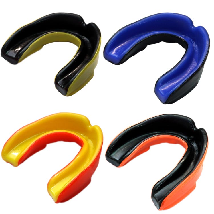 in verschiedenen Farben Zahnschutz Shock Master einfach